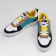TOMMY JEANS Signature Sneaker white / black / tigers eye