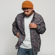 Urban Classics Camo Track Jacket camo šedá