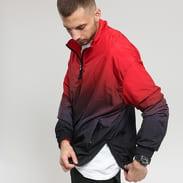 Urban Classics Gradient Pull Over Jacket vínová / červená