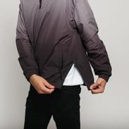 Urban Classics Gradient Pull Over Jacket tmavošedá / čierna