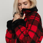 Urban Classics Ladies Plaid Jacket red / black