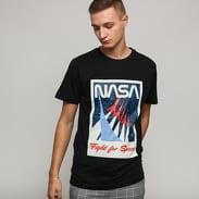 Urban Classics NASA Fight For Space Tee černé