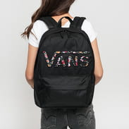 Vans WM Realm Flying V Backpack černý / multicolor