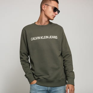CALVIN KLEIN JEANS Institutional Logo Crewneck