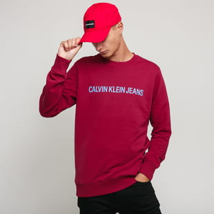 CALVIN KLEIN JEANS Institutional Logo Regular Crewneck