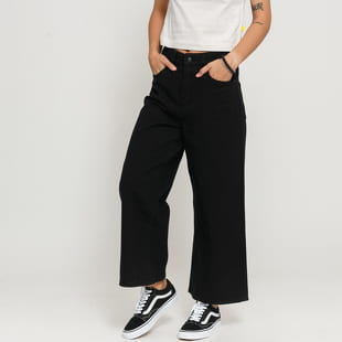 LAZY OAF LO Cropped Wide Leg Jeans