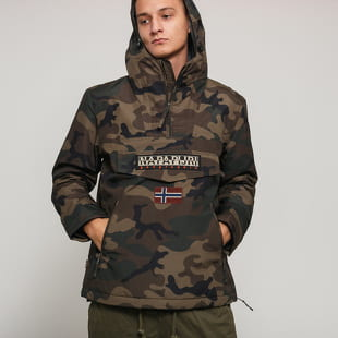 NAPAPIJRI Rainforest Pocket Print Jacket