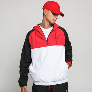 New Era NBA Hooded Windbreaker Chicago Bulls