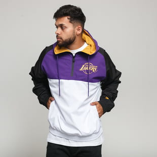 New Era NBA Hooded Windbreaker LA Lakers