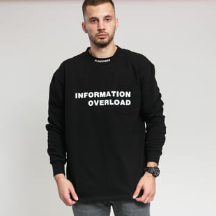 PLEASURES Information Heavyweight Long Sleeve