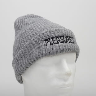 PLEASURES Night Logo Beanie