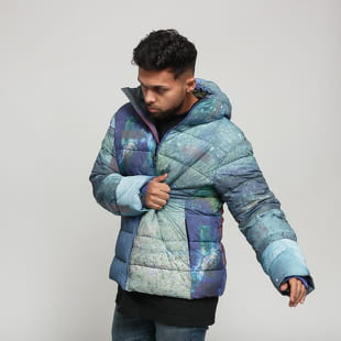 Soulland Over Printed Puffer Jacket