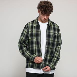 Stüssy Gunn Plaid Zip Up LS Shirt