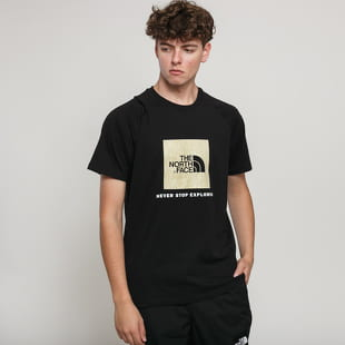 The North Face M Rag Red Box Tee