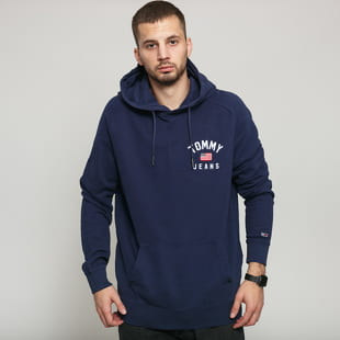 TOMMY JEANS M Washed Chest Graphic Hoodie