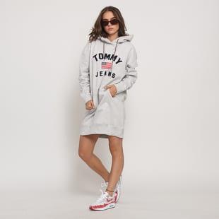 TOMMY JEANS E Logo Hoodie Dress