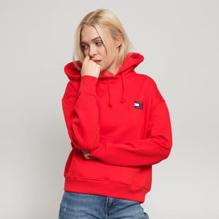 TOMMY JEANS W Tommy Badge Hoodie