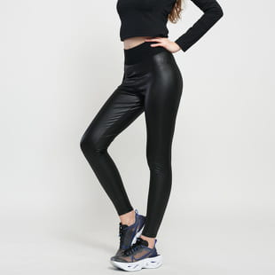 Urban Classics Ladies Faux Leather High Waist Leggings