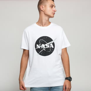 Urban Classics NASA Black-And-White Insignia Tee