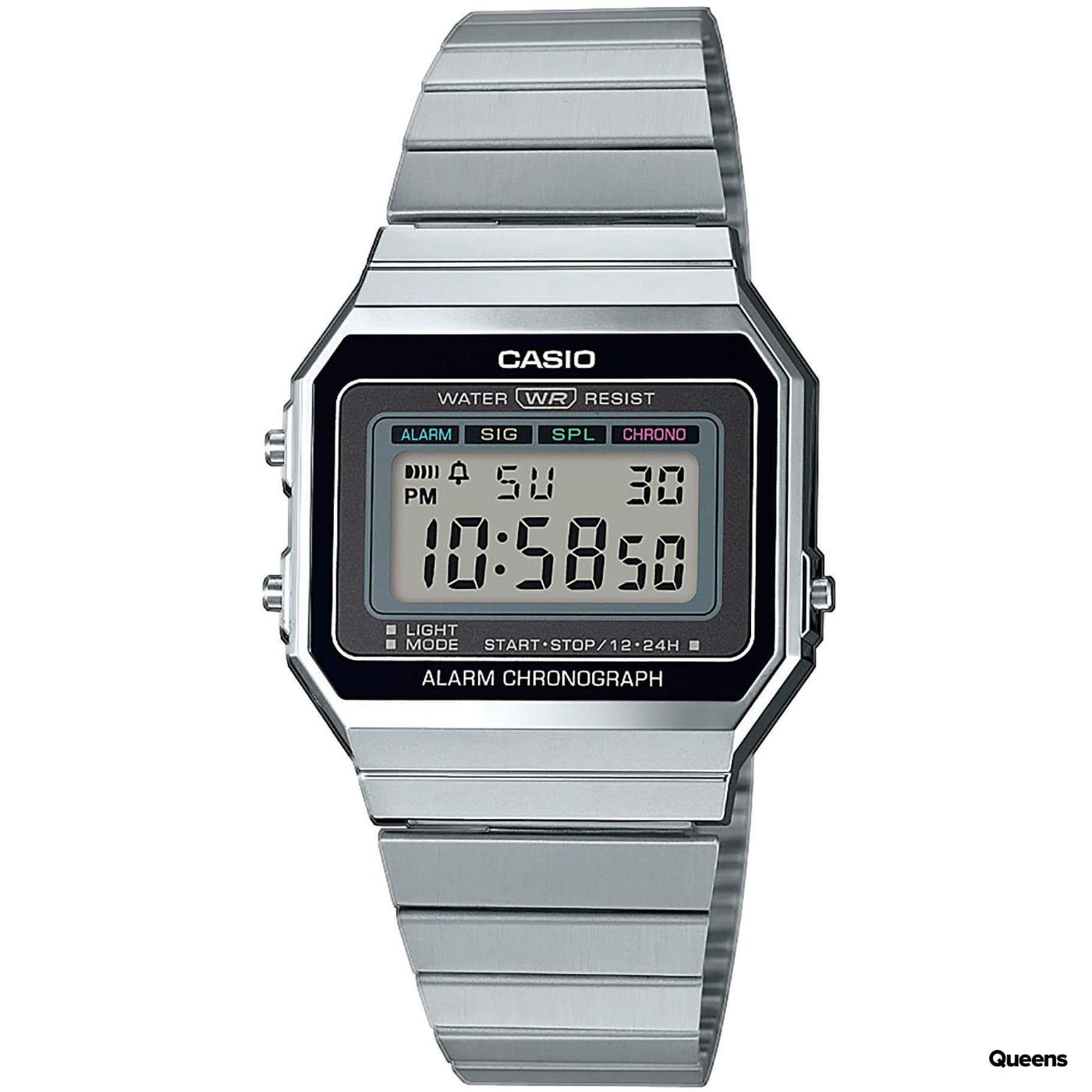 Casio A 700WE-1AEF strieborné