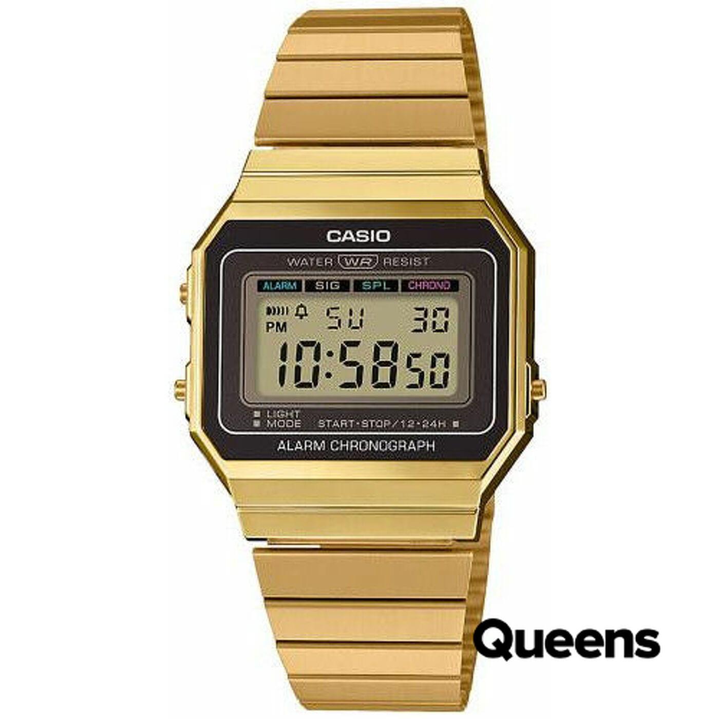 Casio A 700WEG-9AEF gold