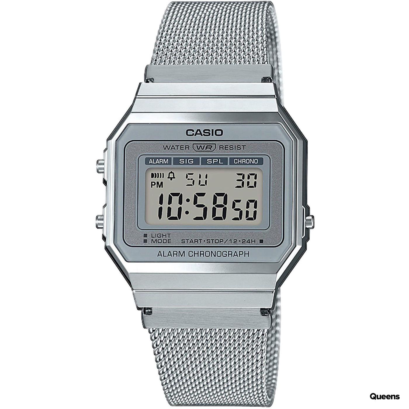 Casio A 700WEM-7AEF strieborné
