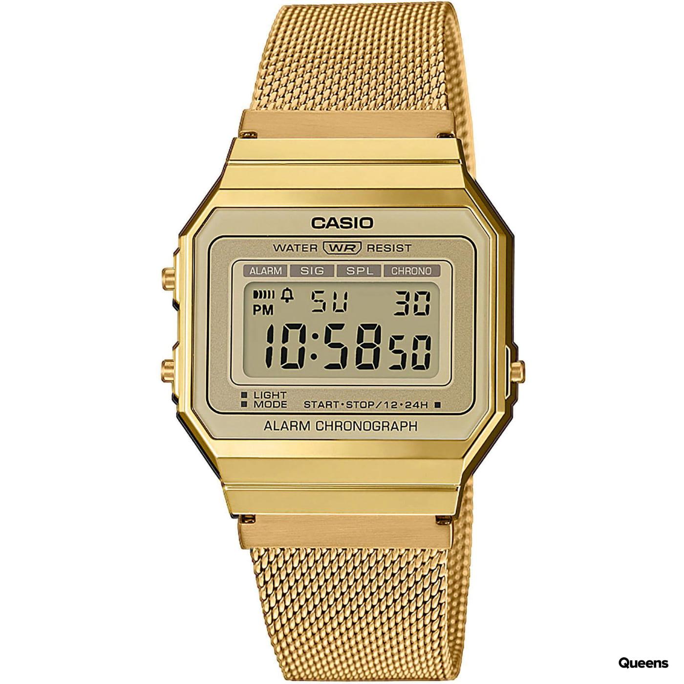Casio A 700WEMG-9AEF gold