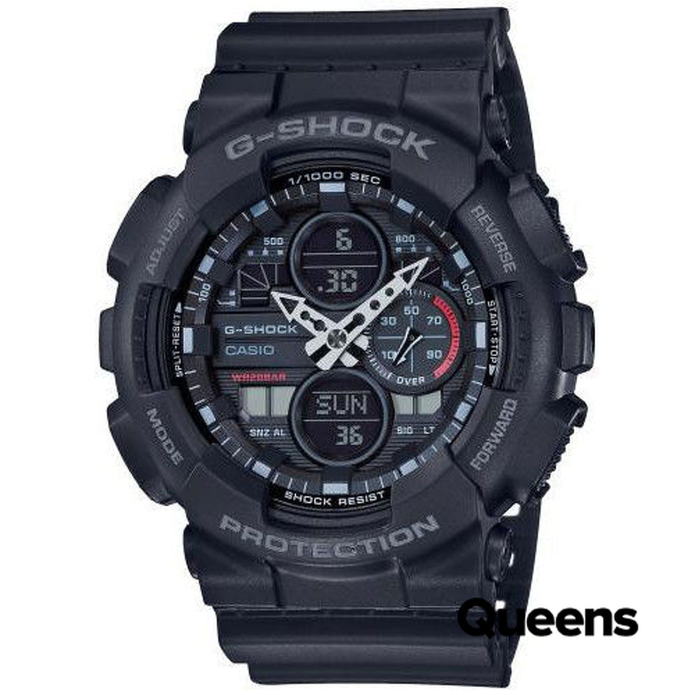 Casio G-Shock GA 140-1AER čierne