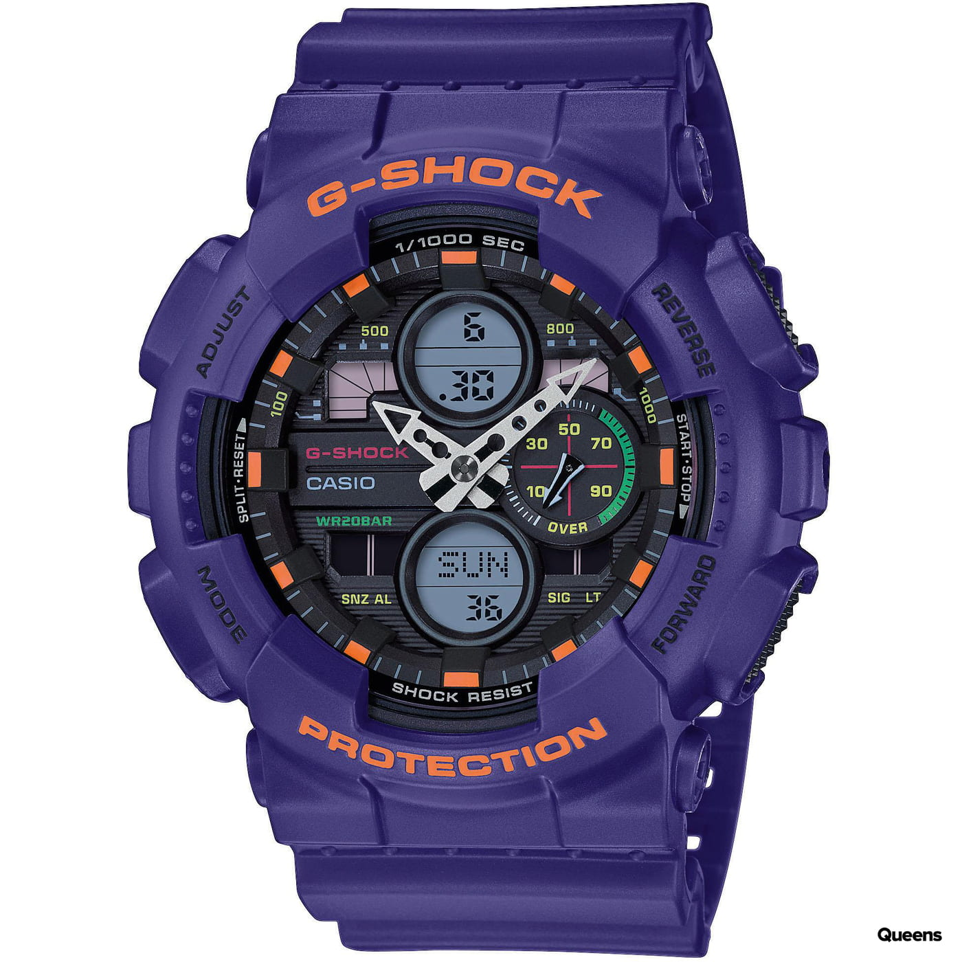 Casio G-Shock GA 140-6AER purple