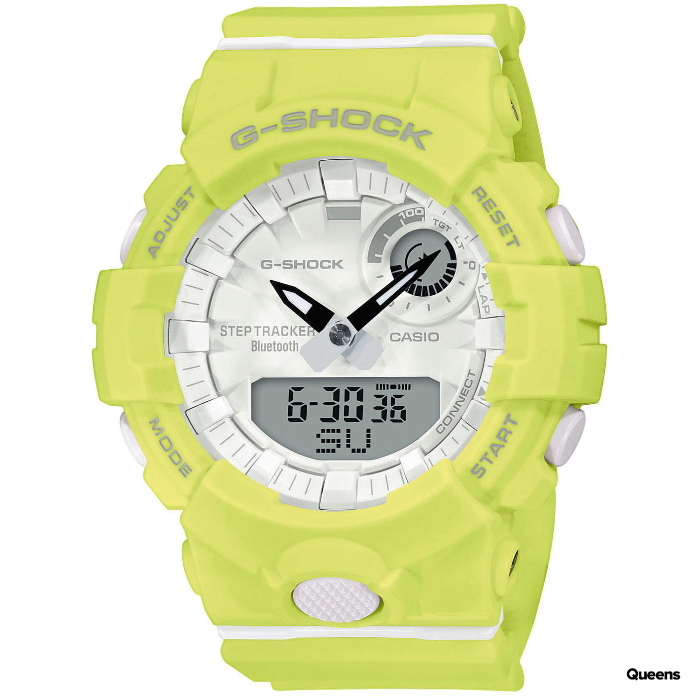 Casio G-Shock GMA B800-9AER neónovo zelené