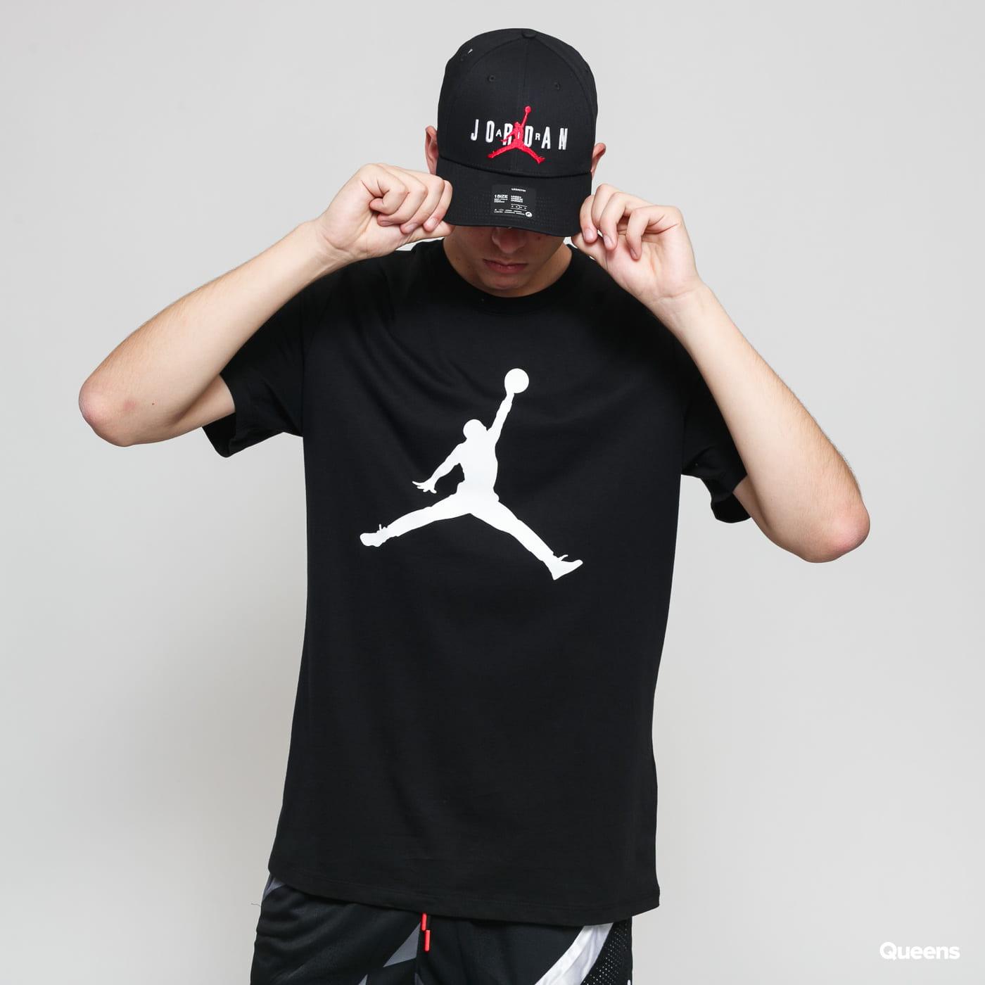 Jordan M J Jumpman SS Crew čierne