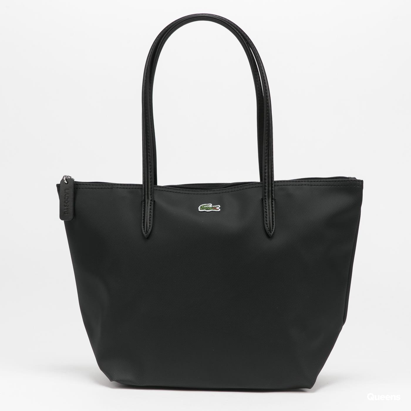 LACOSTE Women's Concept Small Zip Tote Bag schwarz