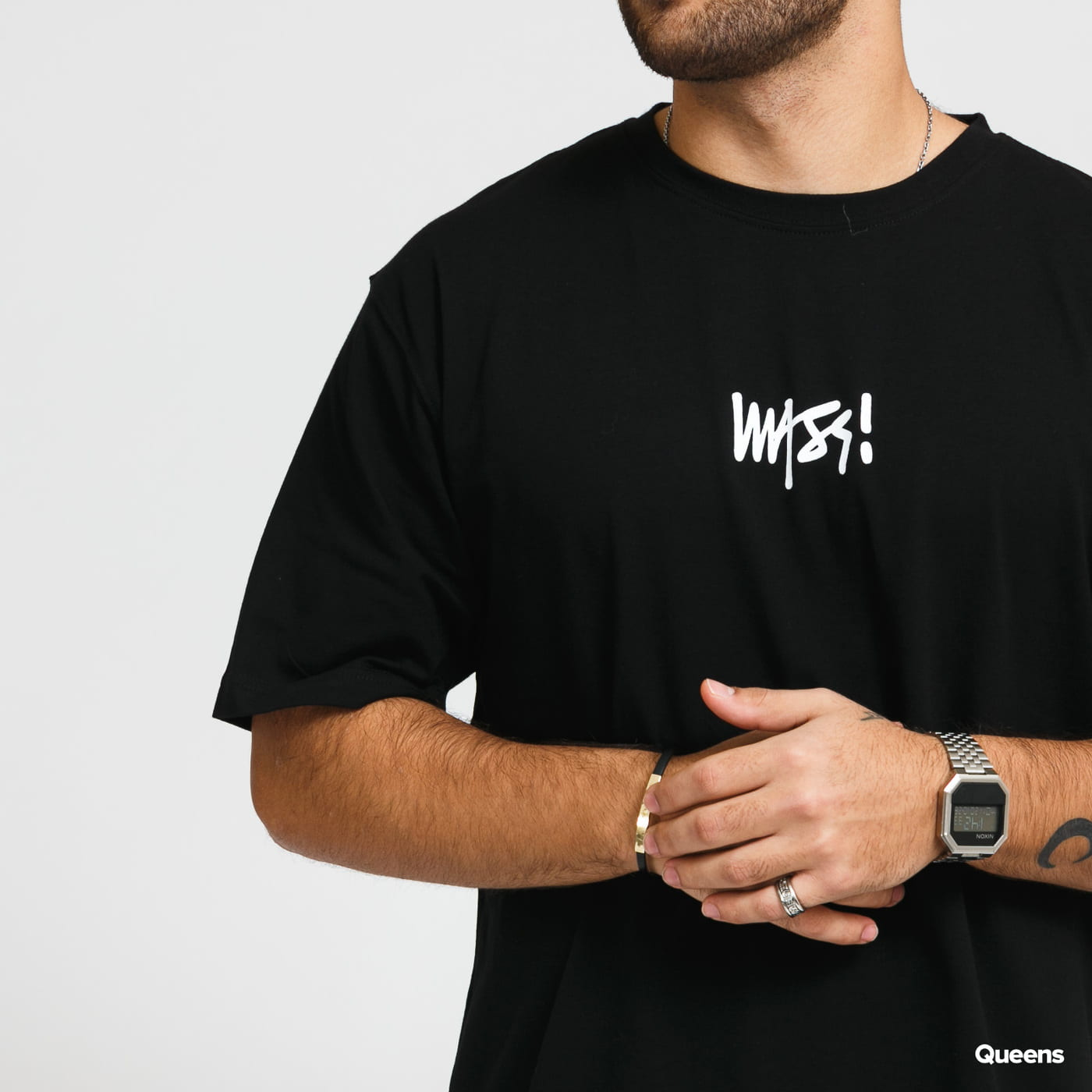 Mass DNM Signature Small Logo Tee black