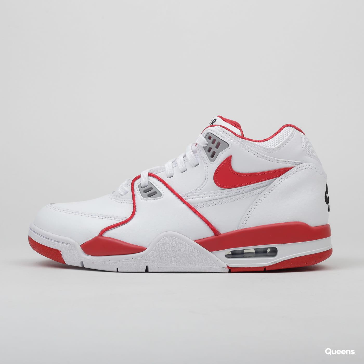 Nike Air Flight 89 LE white / university red - white