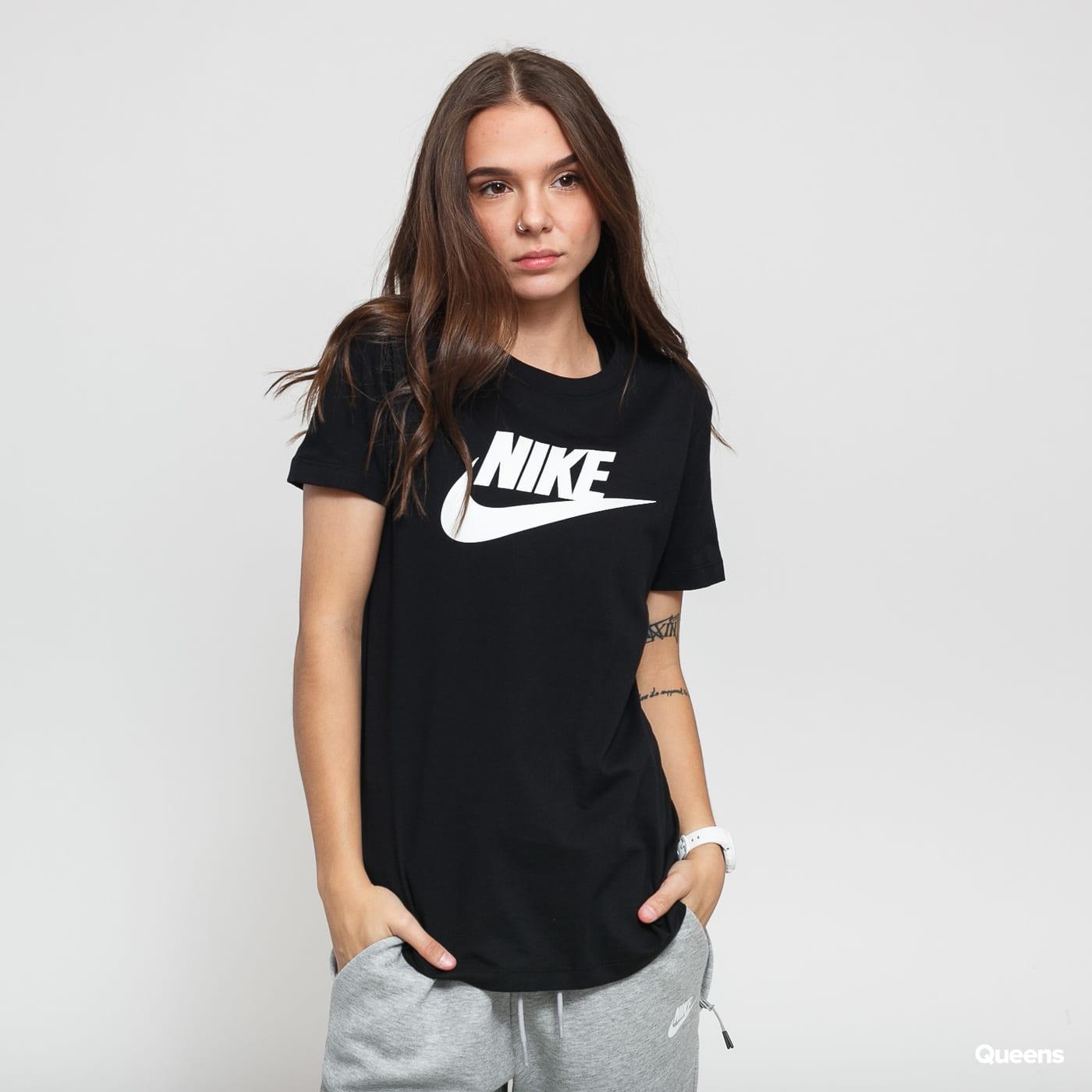 Nike W NSW Tee Essential Icon Futura black