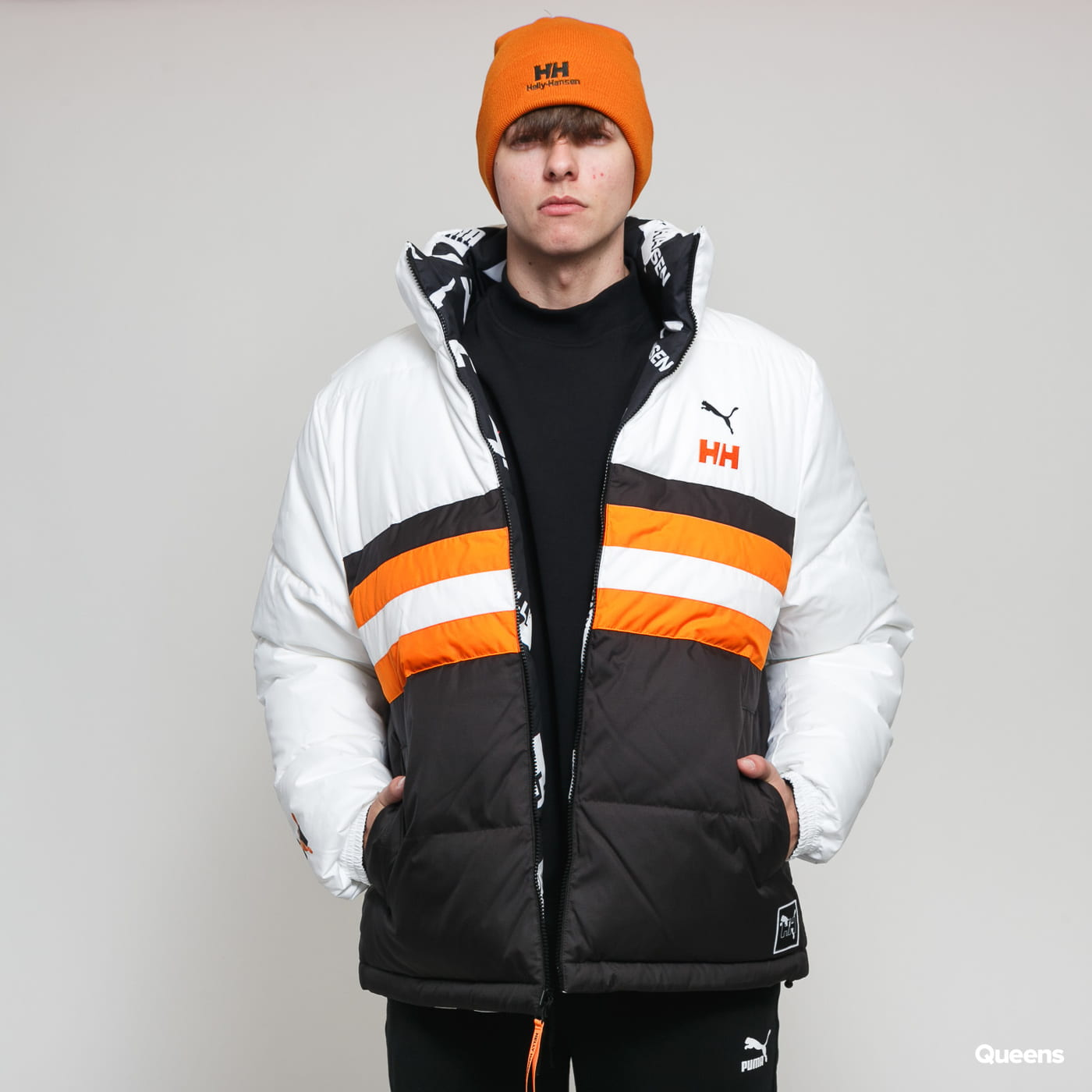 Puma Puma X Helly Hansen Jacket schwarz weiß