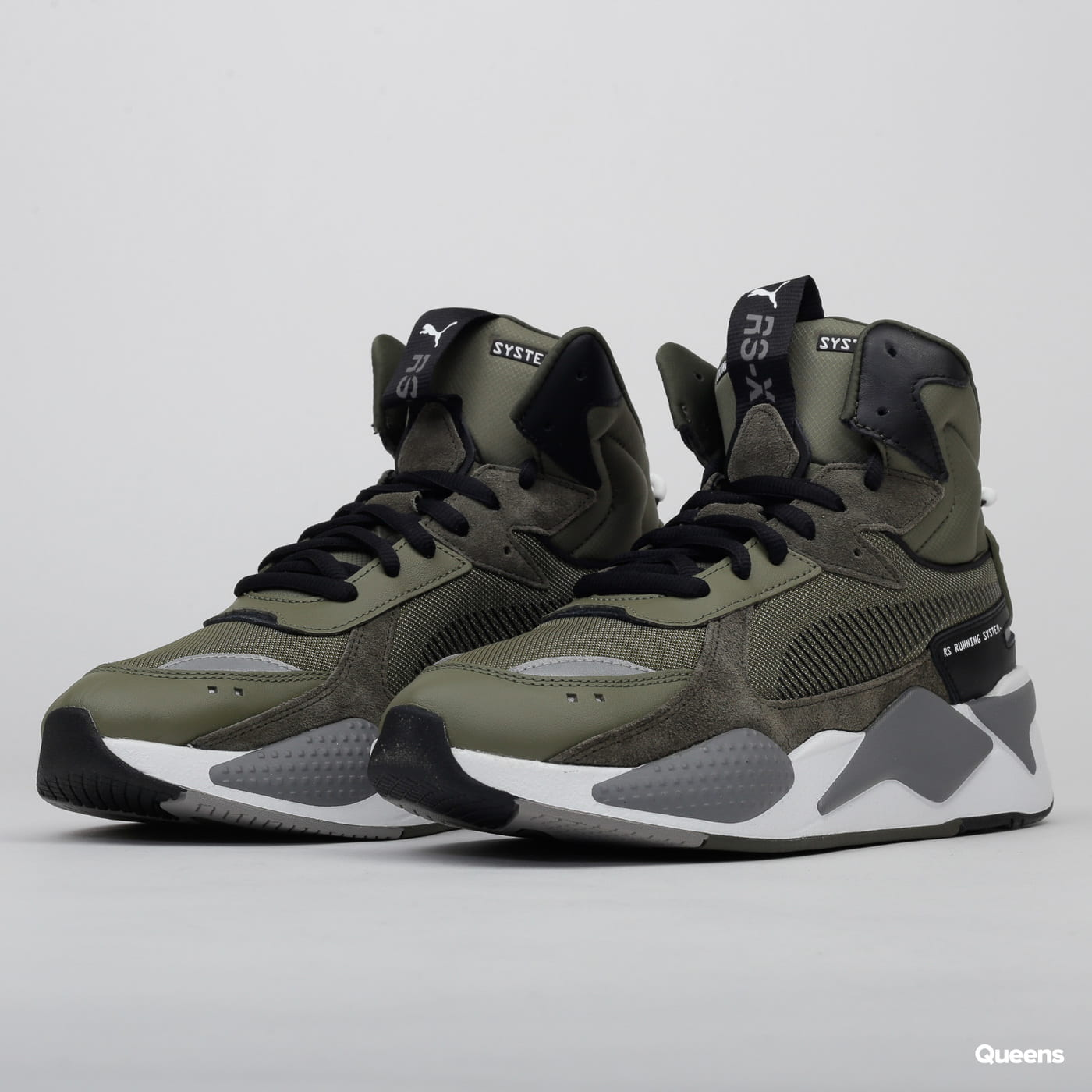 Puma RS X Midtop Utility burnt olive forest night