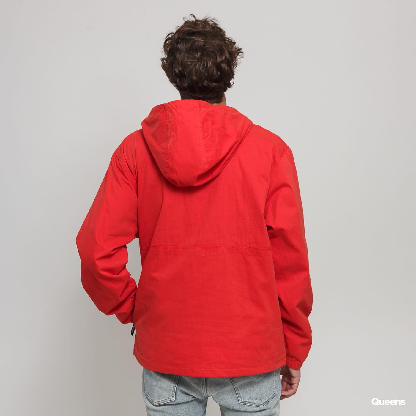 Stüssy Big Pocket Anorak svetločervená