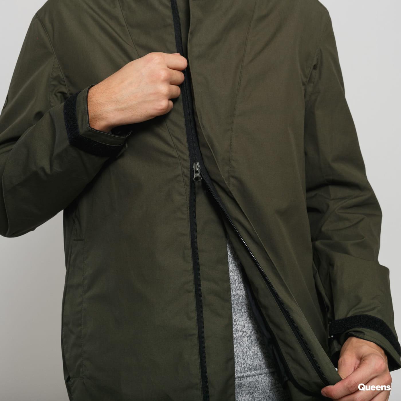 POUTNIK BY TILAK Knight Ventile Jacket dark olive