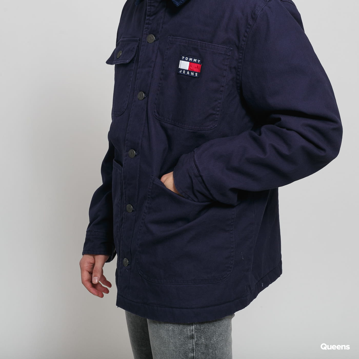 TOMMY JEANS M Workwear Jacket black iris