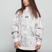 adidas Originals Sweater camo růžová / šedá