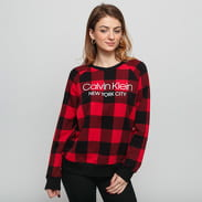 Calvin Klein Women's Sweatshirt LS červená / černá
