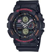 Casio G-Shock GA 140-1A4ER black satin