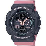 Casio G-Shock GMA S140-4AER čierne / ružové