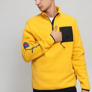 Champion Reverse Weave Script Arm Half Zip Fleece žlutá