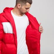 Fila Men Floyd Puff Hood Jacket červená / bílá