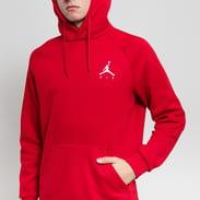 Jordan Jumpman Fleece PO červená
