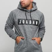 Jordan M J 23 Alpha Therma Fleece GFX PO melange šedá