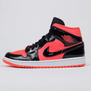 Jordan WMNS Air Jordan 1 Mid bright crimson / black