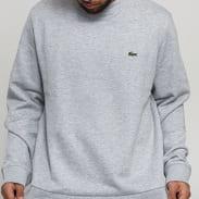 LACOSTE Men's Crewneck Sweatshirt melange šedá